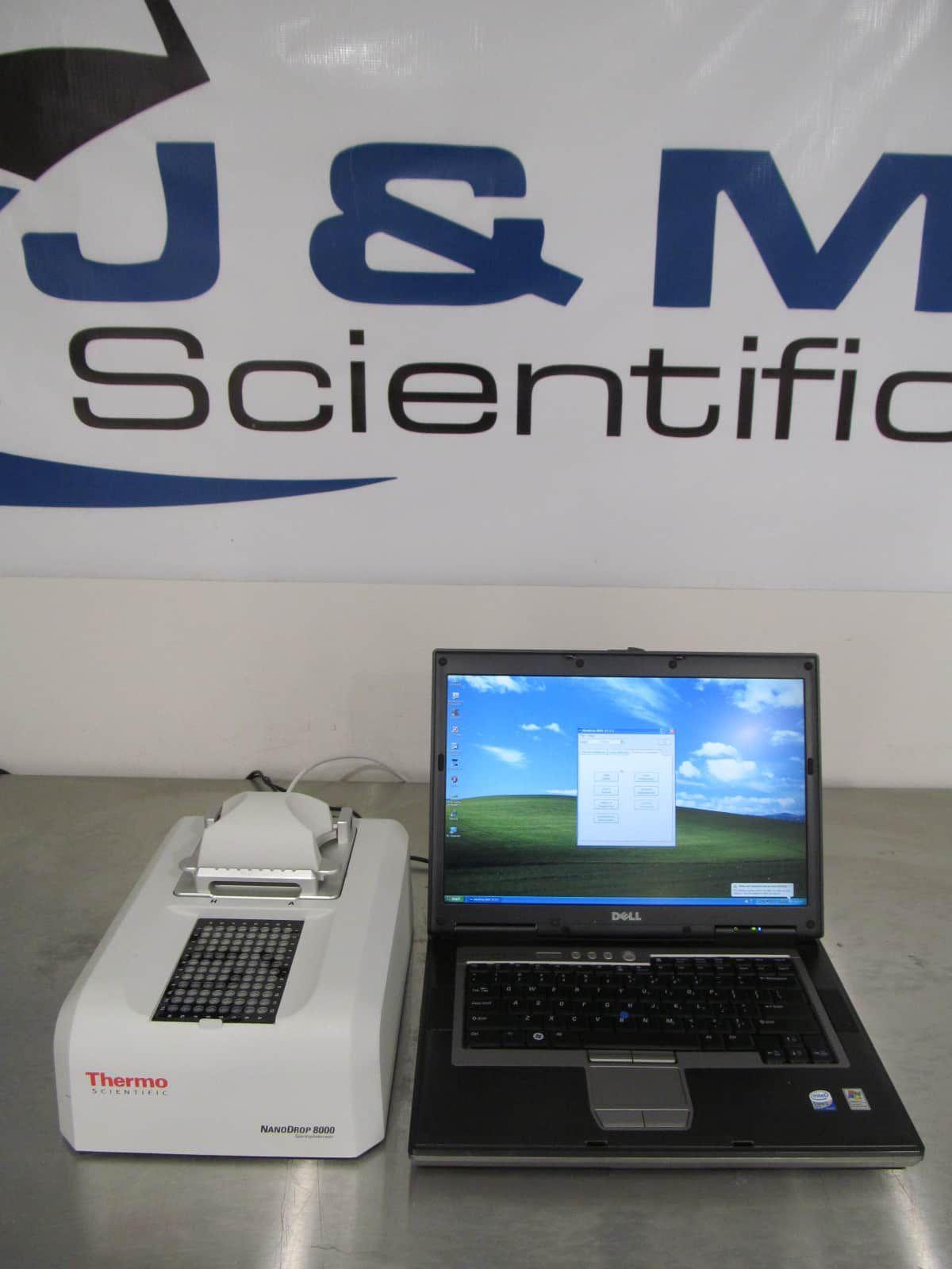 Thermo Nanodrop 8000 Uv-Vis Specrtrophotometer