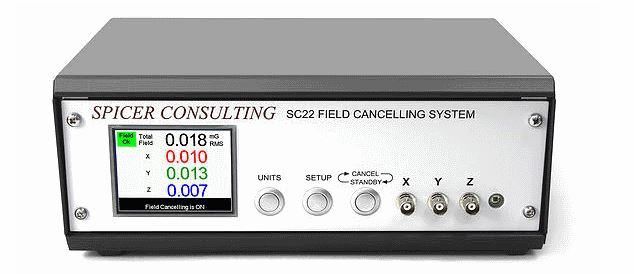 Spicer Consulting Field Cancellation System (SC 22 Controller, Sensor, and cabling)