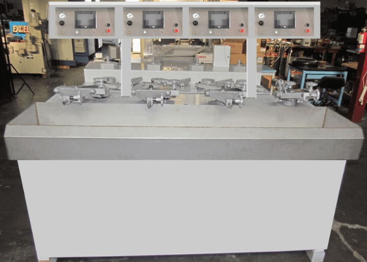 2 & 4 Spindle STRASBAUGHS w/New Easy to Use: 2020 HMI/PLC  Controls