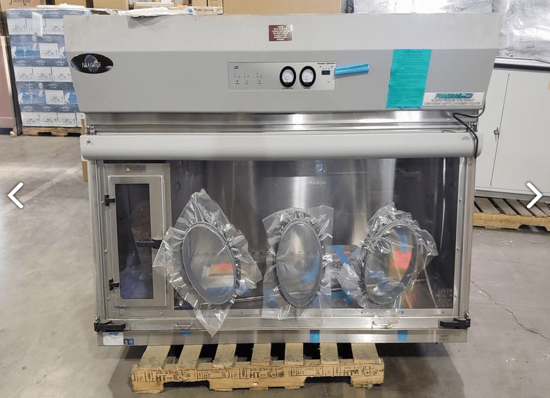 Compounding Aseptic Isolator NUAIRE NU-NTE797-600