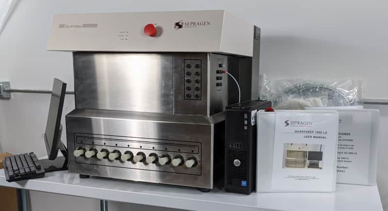 Sepragen QuantaSep 1000LX FPLC System (Brand New), Complete with Warranty