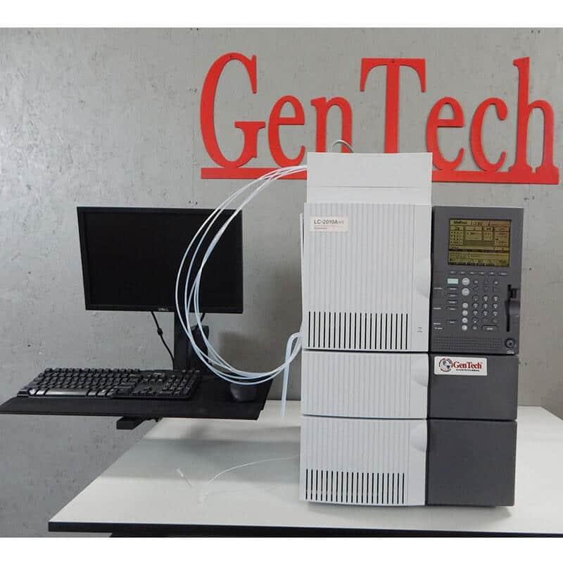 Shimadzu LC-2010A HT HPLC System