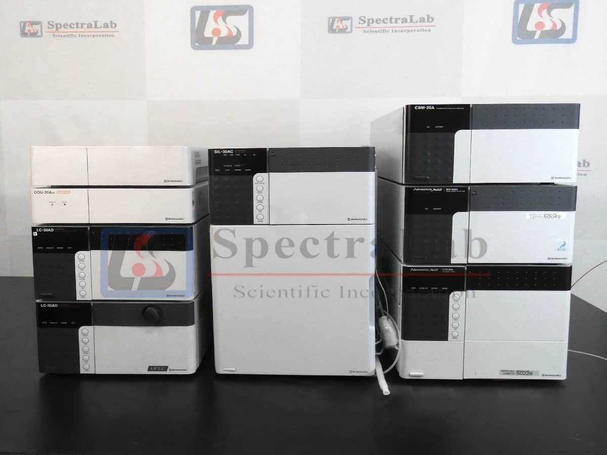 Shimadzu Nexera X2 UHPLC System with SIL-30AC Autosampler