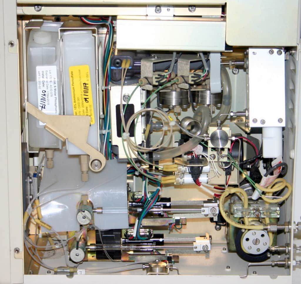 GE SIEVERS 900 SERIES LABORATORY TOC ANALYZER WITH AUTOSAMPLER
