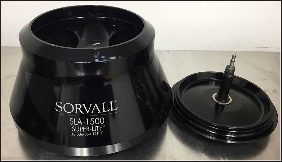 Sorvall Superlite SLA-1500 Rotor w WARRANTY