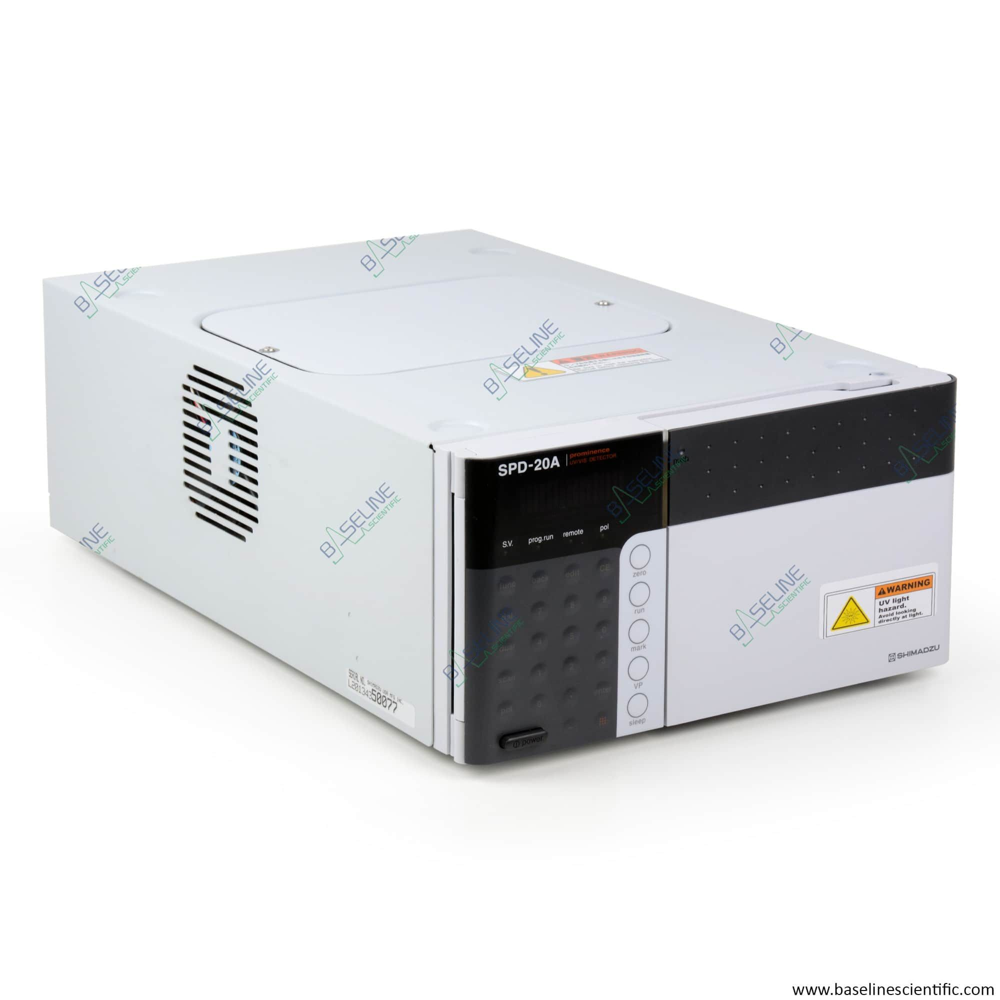 Refurbished Shimadzu SPD-20A Prominence UV-VIS Detector with ONE YEAR WARRANTY