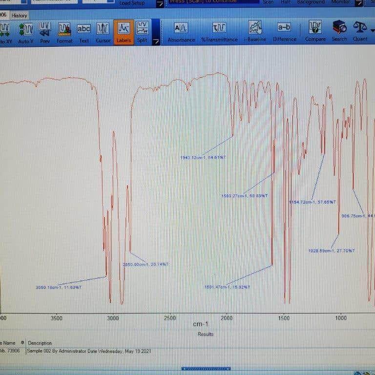 RECONDITIONED PE Model Spectrum One FTIR