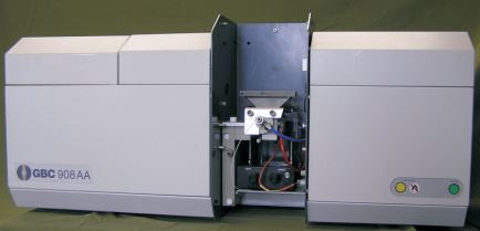 908PBMT Double Beam Atomic Absorption Spectrophotometer, includes Windows 7™ computer system, instrument software and all shipping charges. (US & Canada only)