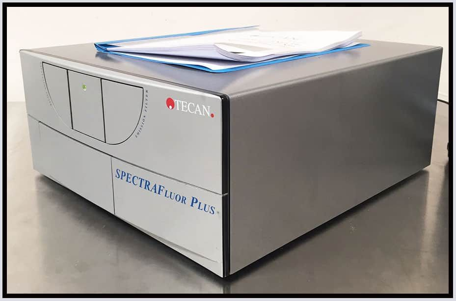 Tecan SpectraFluor PLUS Microplate Reader Genios Multimode w WARRANTY