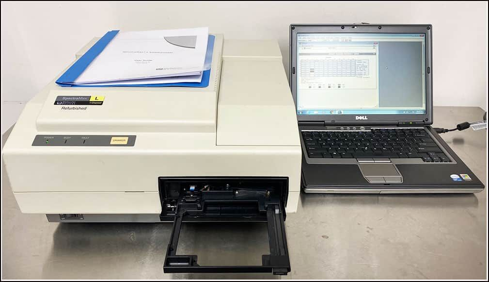 Spectramax L Microplate Luminometer Luminescence Reader w WARRANTY