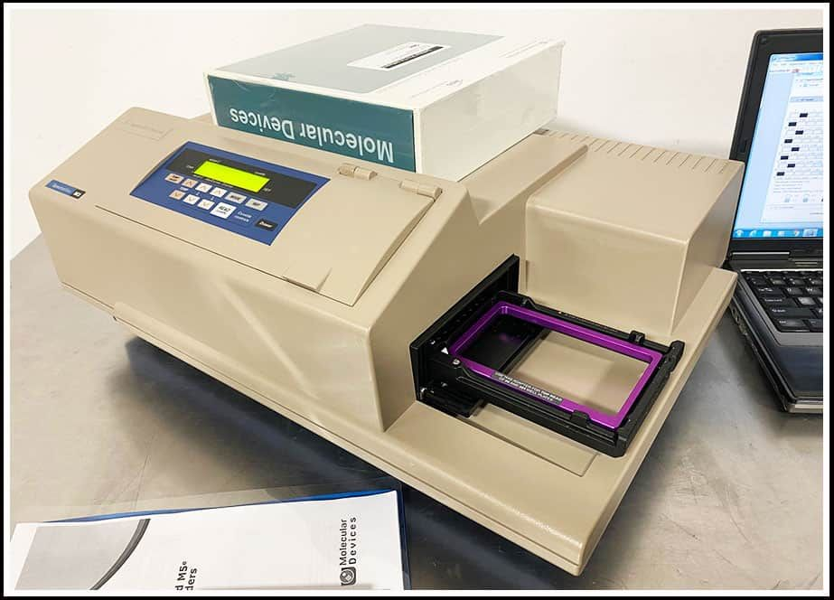 Molecular Devices SpectraMax M3 Multimode Microplate Reader w WARRANTY