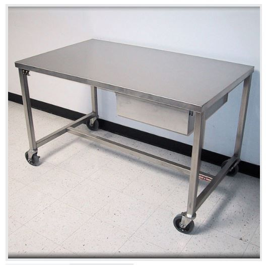 RDM STAINLESS STEEL TABLES