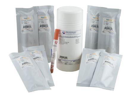Hardy Diagnostics Microbiologics - Complete Aspergillus Collection for Cannabis Process Control QC Set