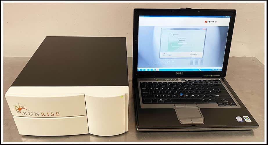 Tecan Sunrise Microplate Reader COMPLETE w WARRANTY