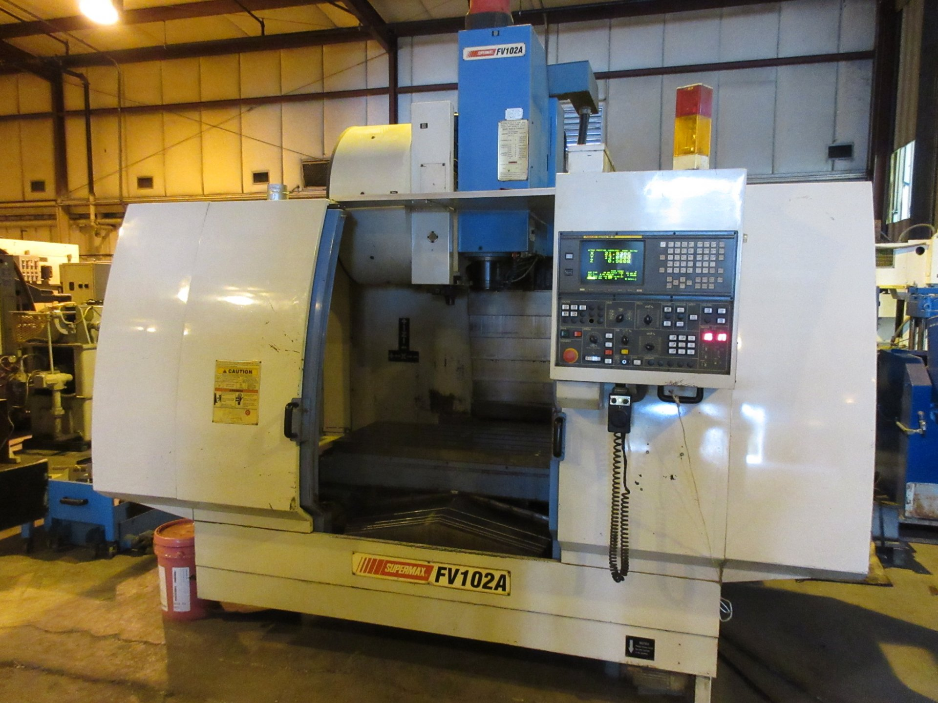 SUPERMAX CNC VERTICAL MACHINING CENTER MODEL: FV102A