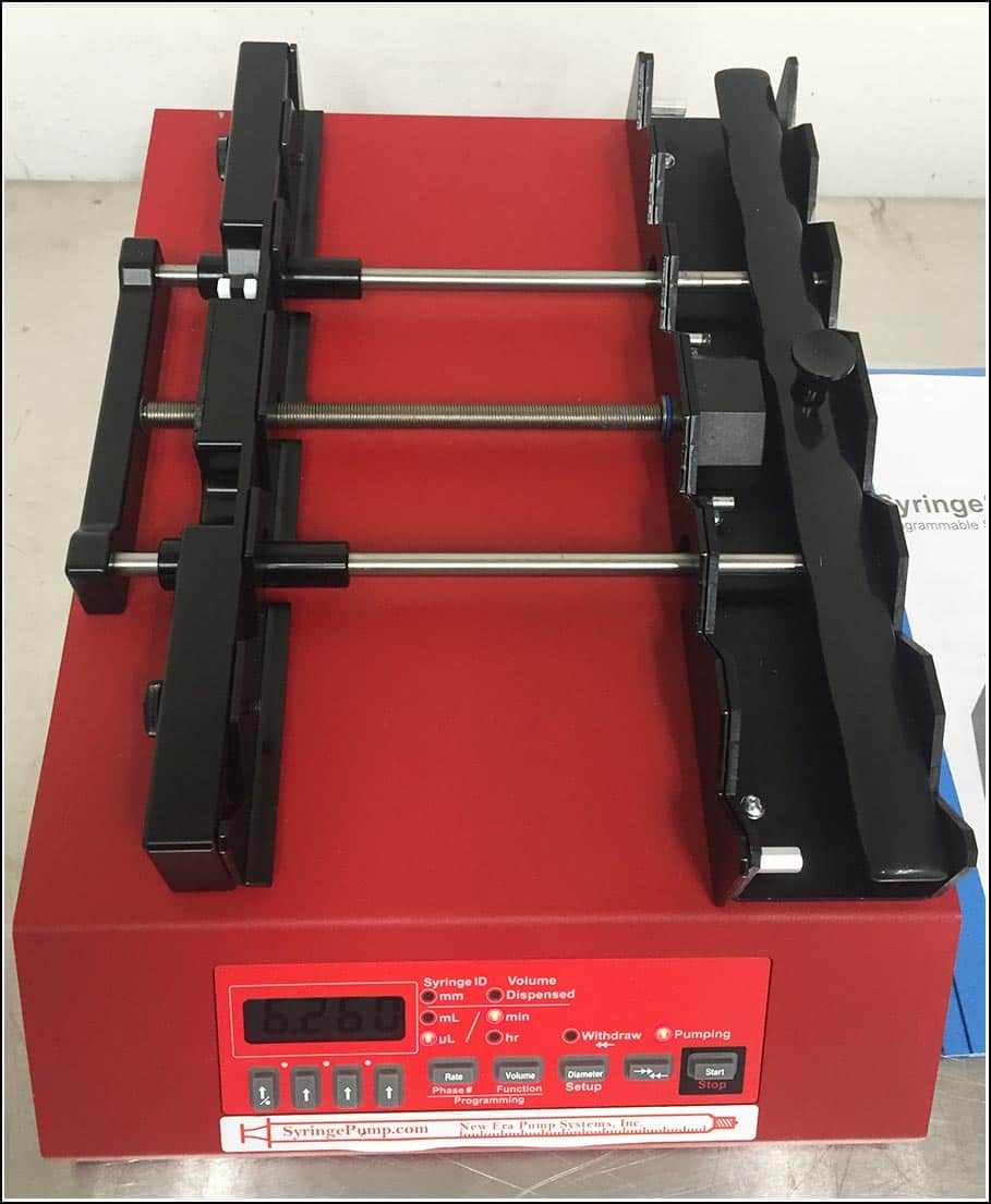 New Era Infusion & Withdrawal Syringe SIX NE-1600 Pump w WARRANTY