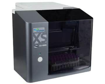 SYSMEX XS-1000i AUTOMATED HEMATOLOGY ANALYZER