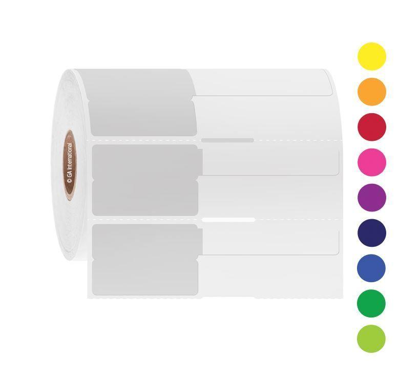 GA International Syringe Identification Labels for Thermal Transfer Printers