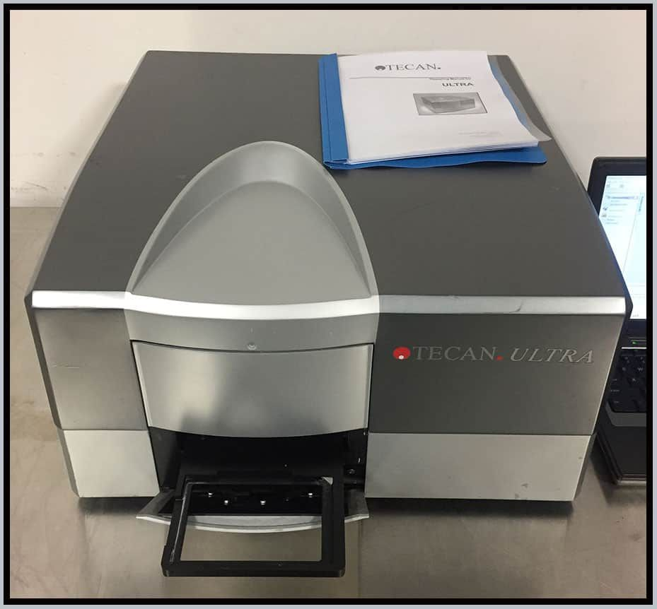 Tecan Ultra MultiMode Microplate Reader COMPLETE w WARRANTY