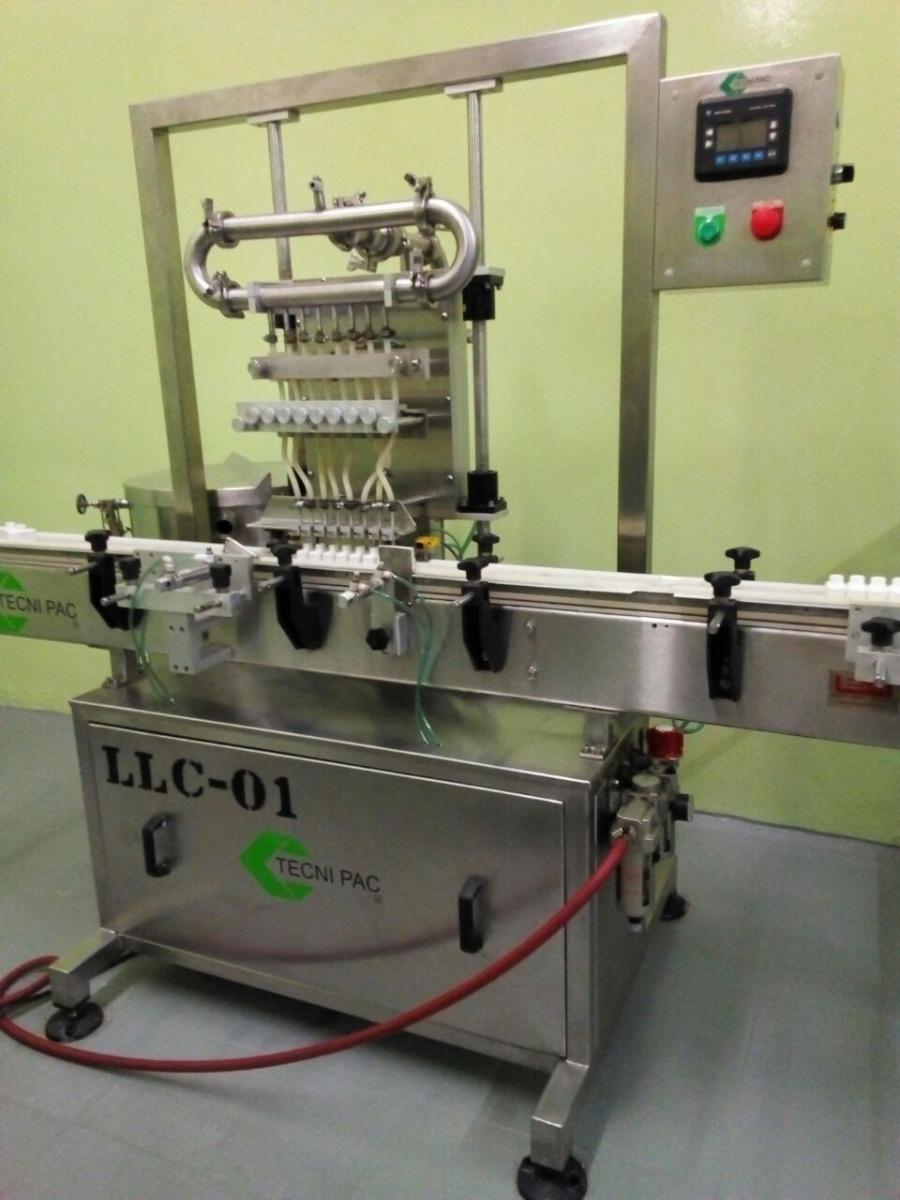 Tecni Pac Liquid Filling Line Consisting