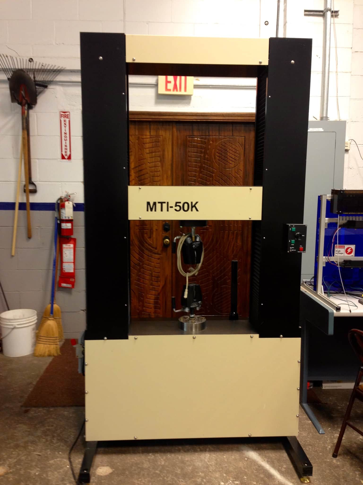 UNIVERSAL TESTING MACHINE (UTM) - Rarely Used, High Capacity