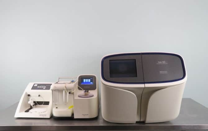 Thermo ION S5 DNA Sequencer includes Ion OneTouch 2 with Warranty