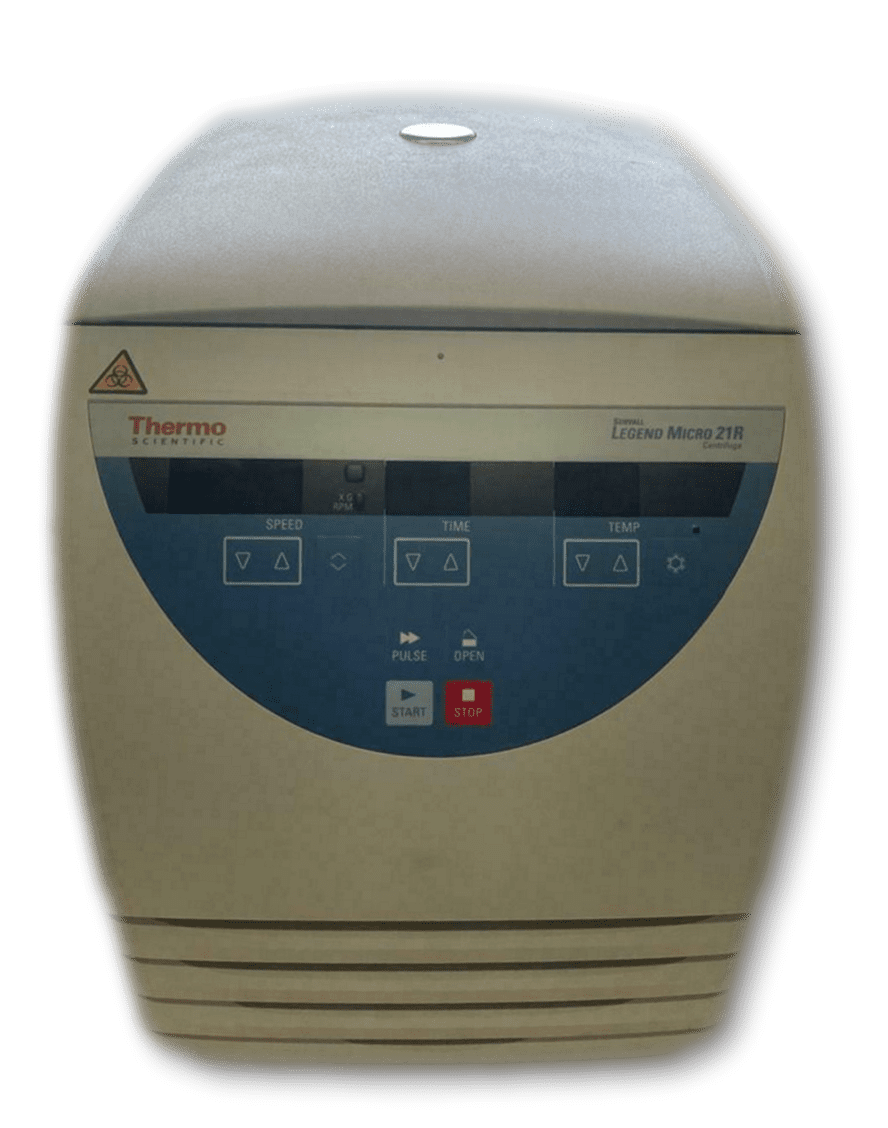Thermo Scientific Sorvall Legend Micro 221R Centrifuge With Rotor