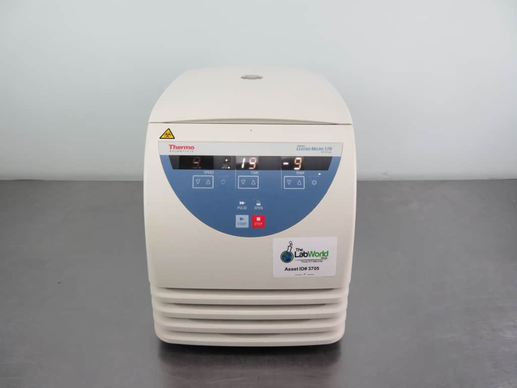 Thermo Sorvall Legend Micro 17R Microcentrifuge with Warranty