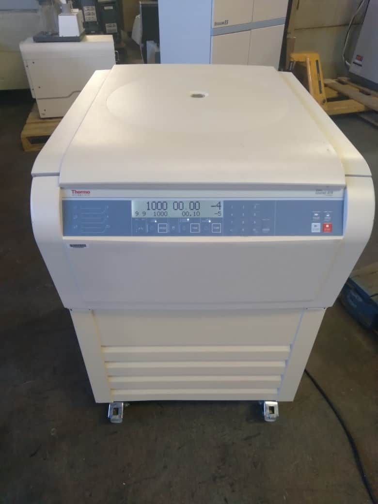 Thermo Sorvall Legend XFR refrigerated centrifuge