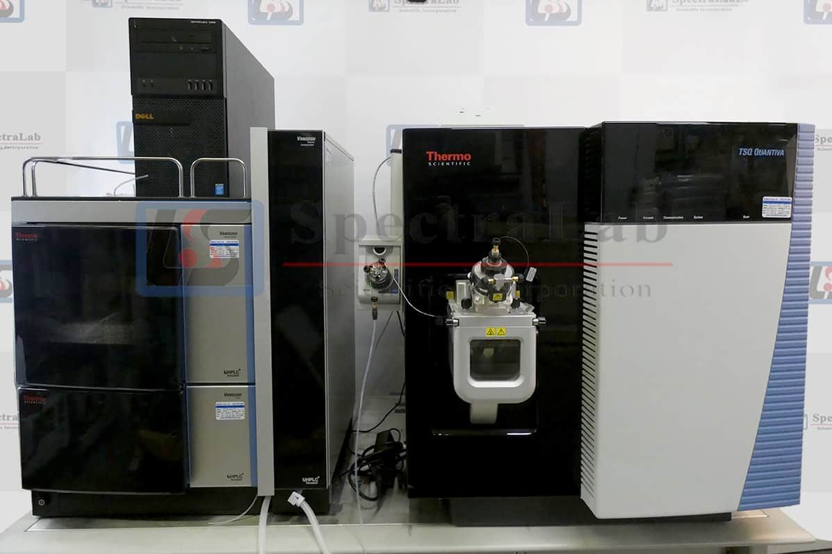 Thermo TSQ Quantiva Triple Quadrupole Mass Spectrometer with Vanquish MD UHPLC