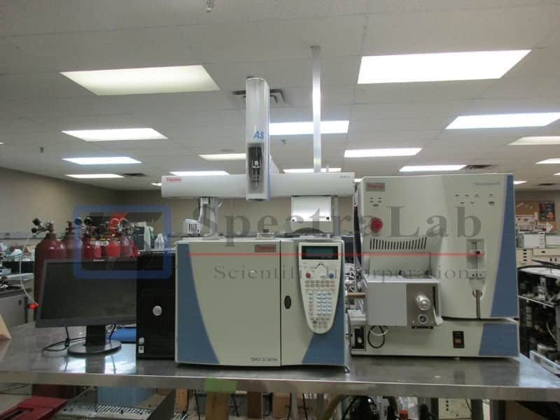 Thermo TSQ Quantum GC with Trace GC Ultra GC/MS/MS System & TriPlus 100 Autosampler
