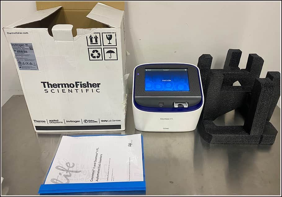 Thermo Invitrogen Countess II FL Automated Cell Counter w WARRANTY