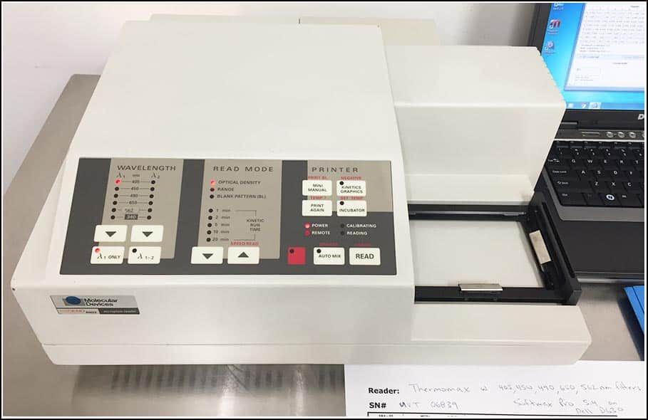 Molecular Devices ThermoMax Microplate Reader COMPLETE w WARRANTY