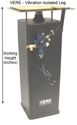 Optical Table Legs- heavy load vibration isolated