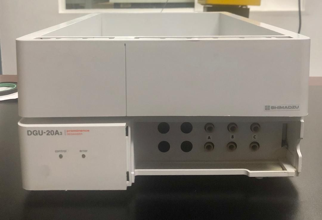 Shimadzu DGU-20A3 HPLC Degasser with Tray,  228-45018-32