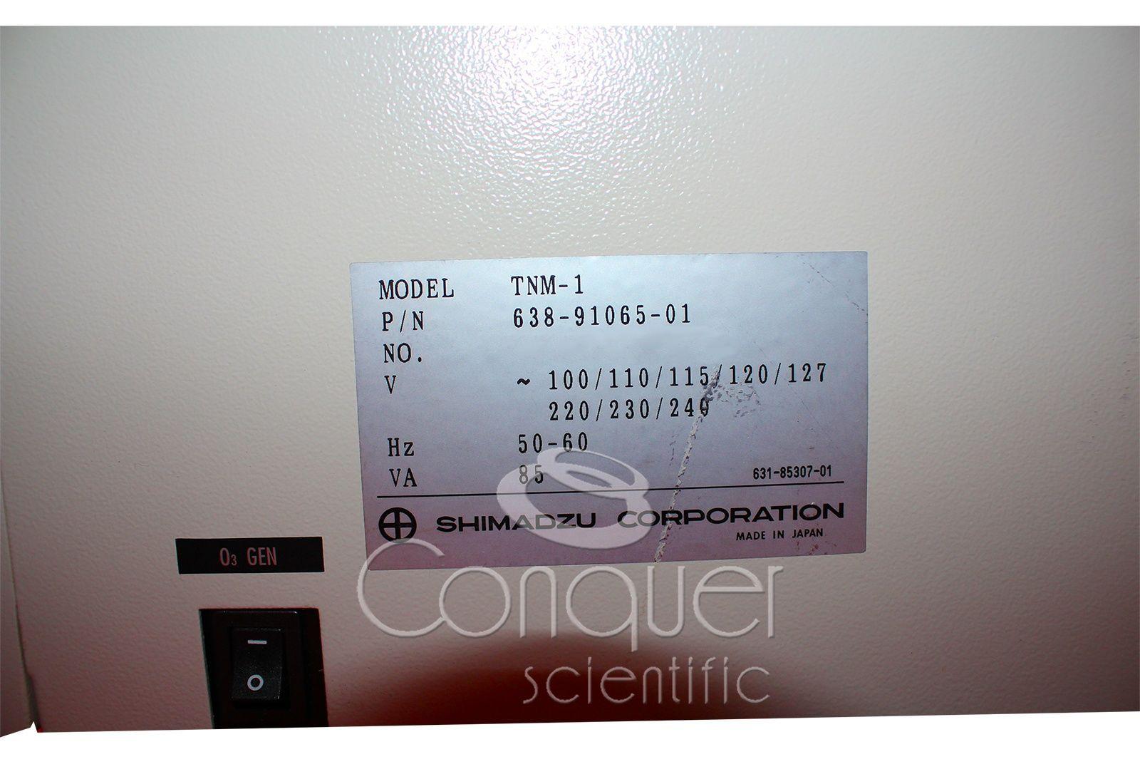 Shimadzu On-Line TOC-V CSH Total Organic Analyzer
