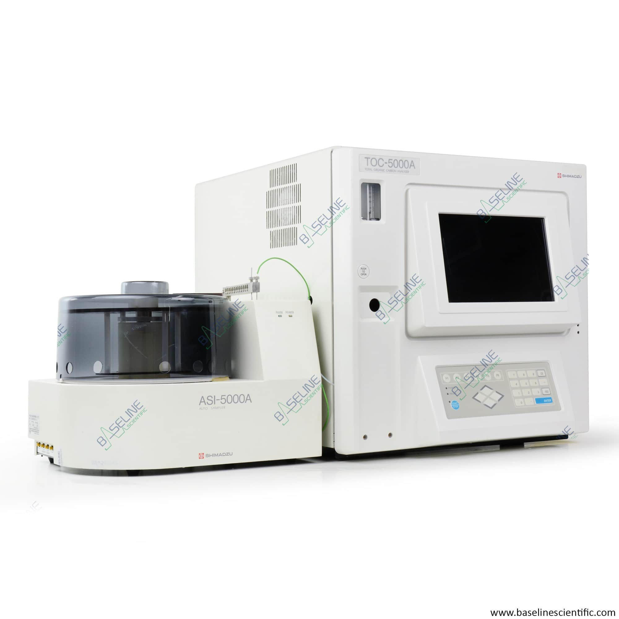 Refurbished Shimadzu TOC-5000A with ASI-5000A Autosampler and ONE YEAR WARRANTY