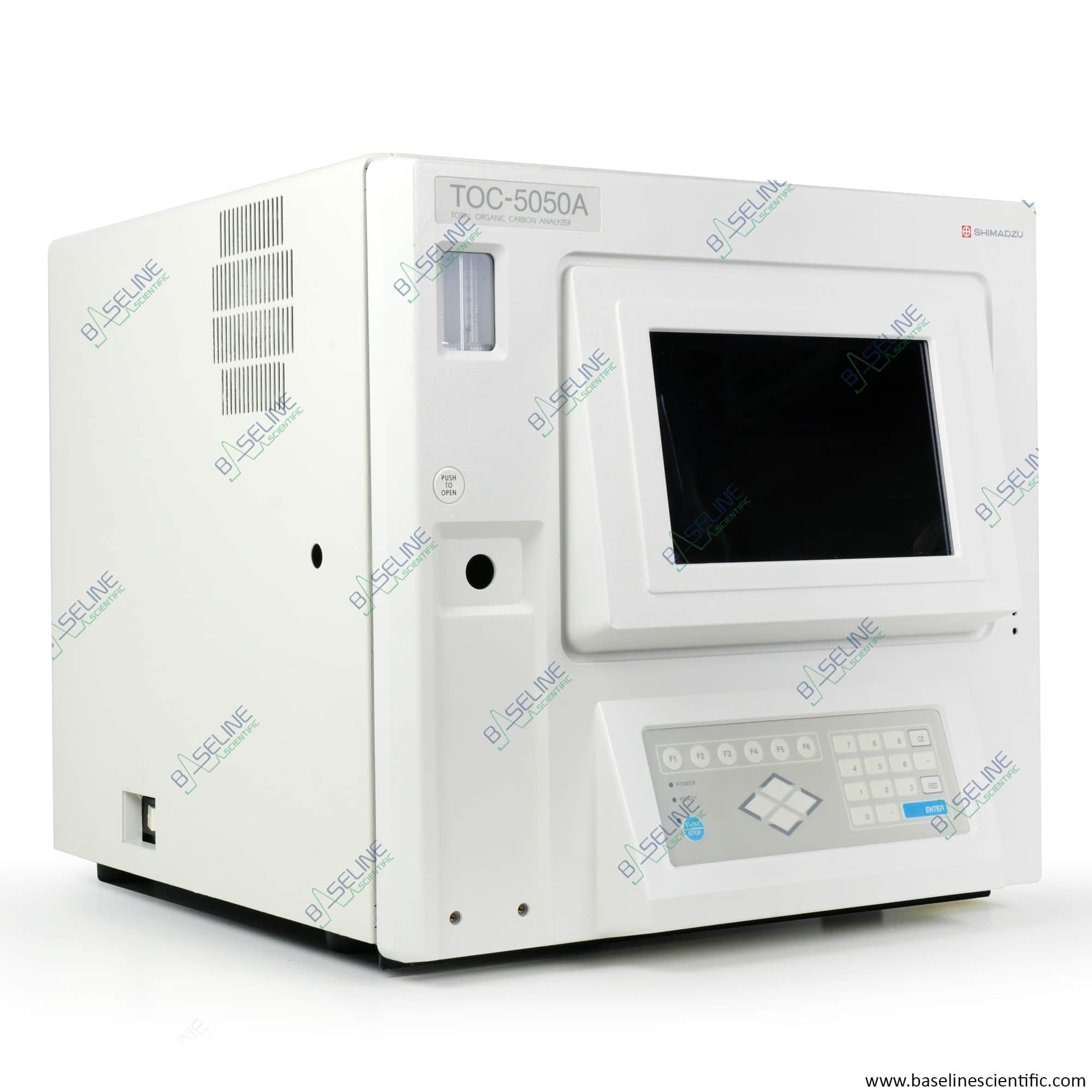 Refurbished Shimadzu TOC-5050A Total Carbon Analyzer with Control Software and ONE YEAR WARRANTY
