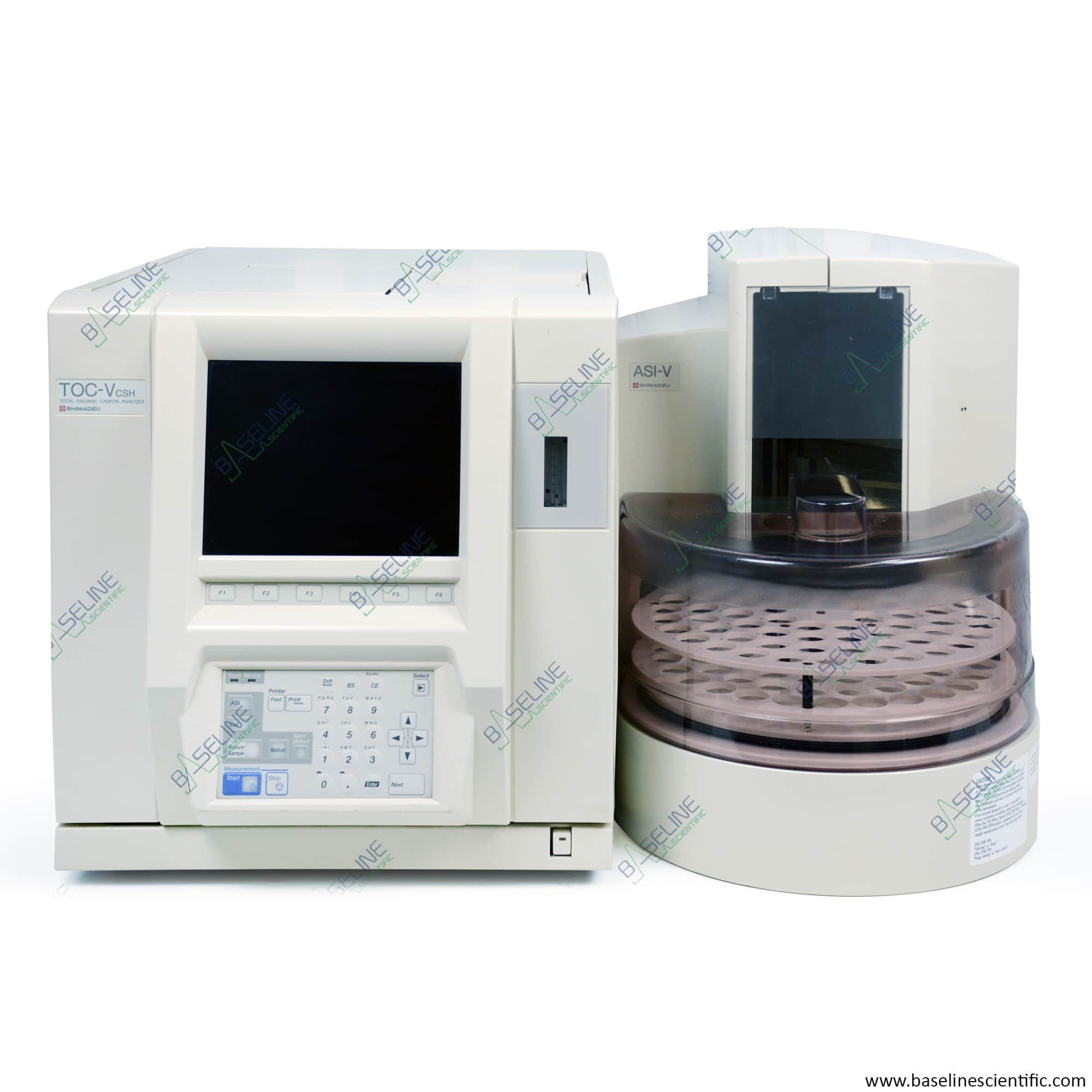Refurbished Shimadzu TOC-V CSH with ASI-V Autosampler and ONE YEAR WARRANTY