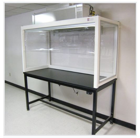 Table Model LF-102P-B– BenchTop Vertical Laminar Flow HEPA Workstation