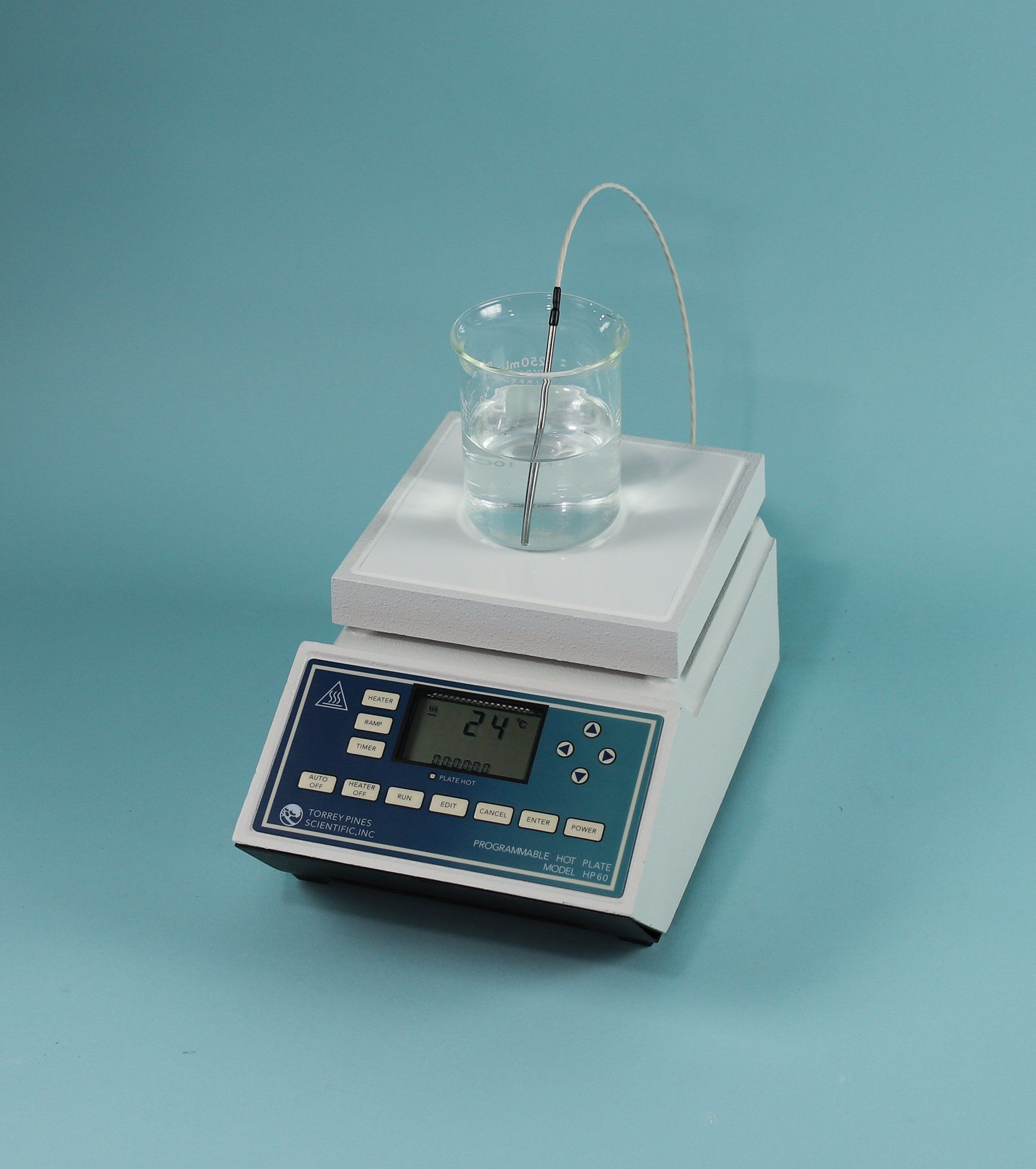 """Programmable Hot Plate, 6"""" x 6"""" Ceramic Top"""