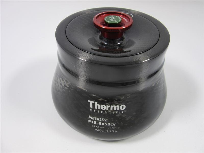 Thermo Scientific FiberLite F15-8x50cy Fixed Angle Rotor