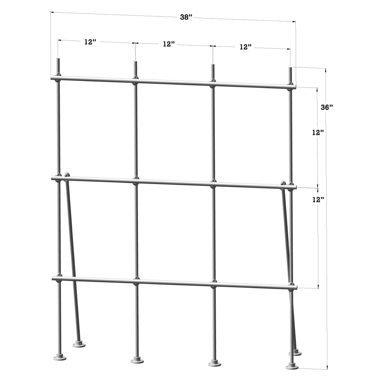 Lee Engineering Table Top Mount Lab-Frame Kit