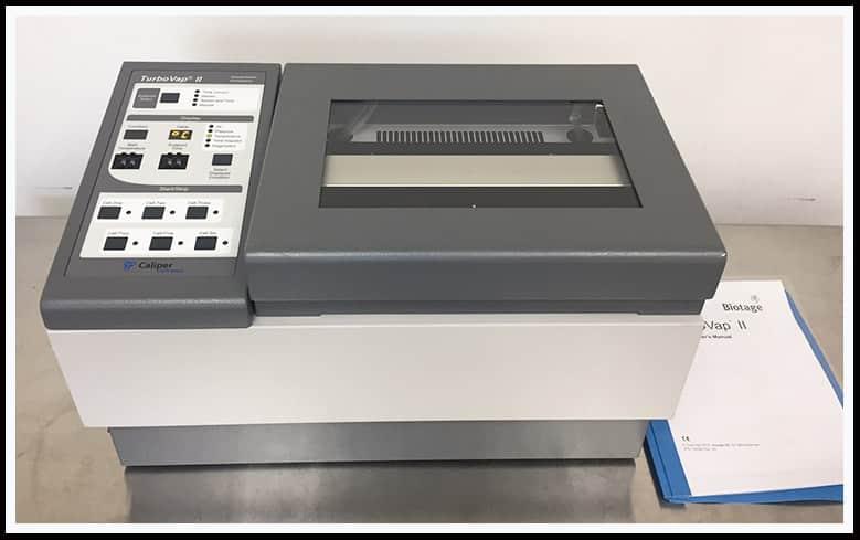 Biotage Caliper TurboVap II Evaporator 6 x 50ml w WARRANTY