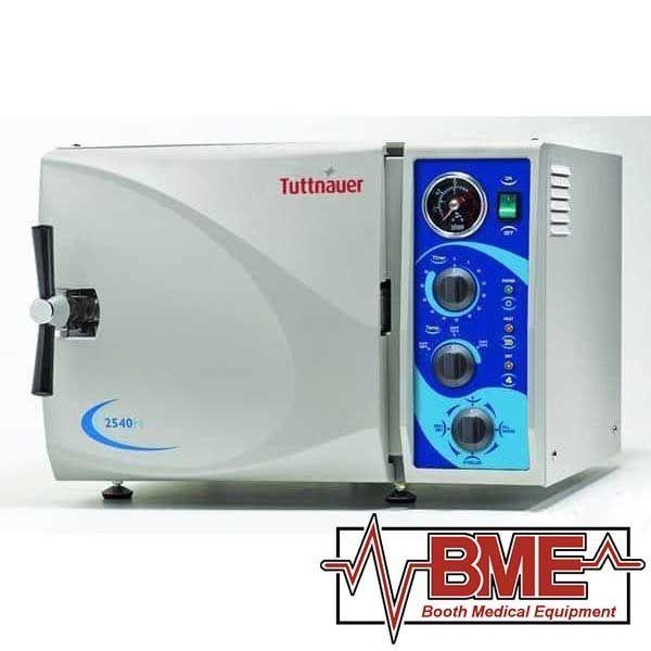"2540M Tuttnauer Manual Autoclave Sterilizer (10"" Chamber) Brand New"