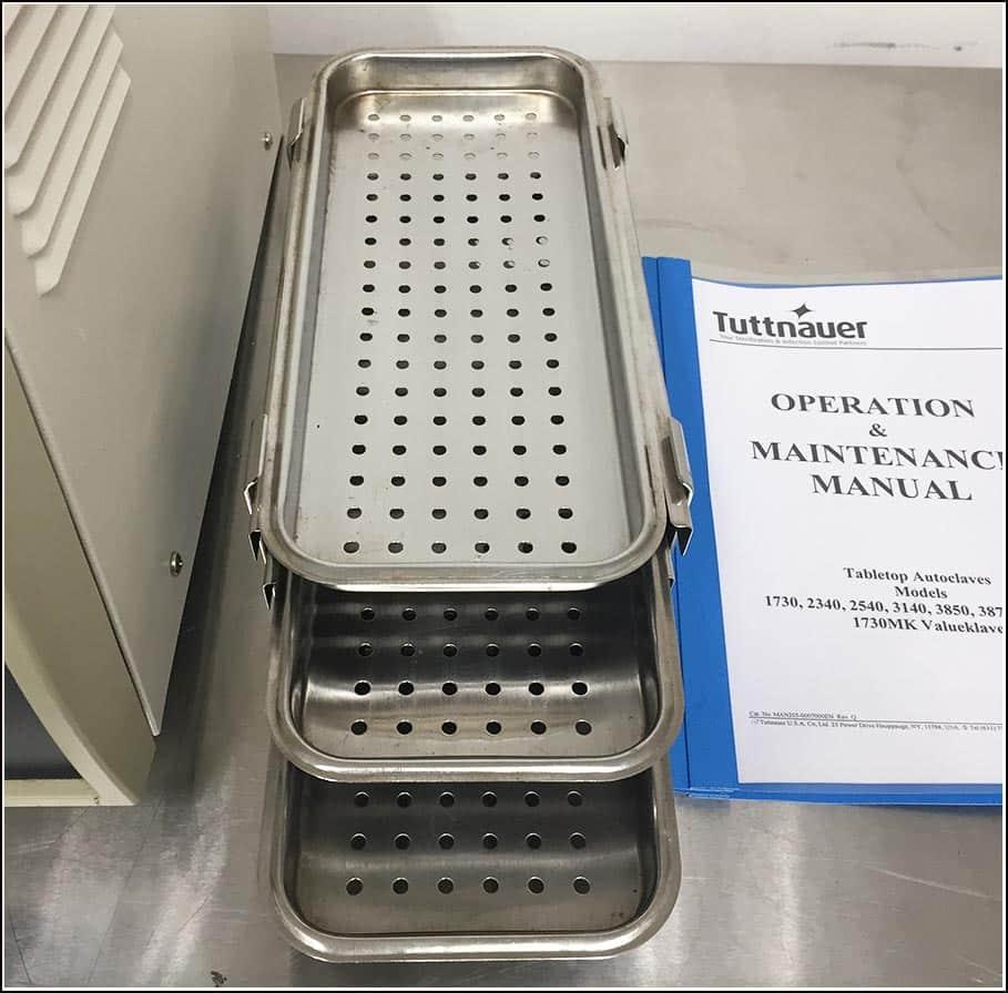 Tuttnauer Tabletop Autoclave 1730mk w WARRANTY