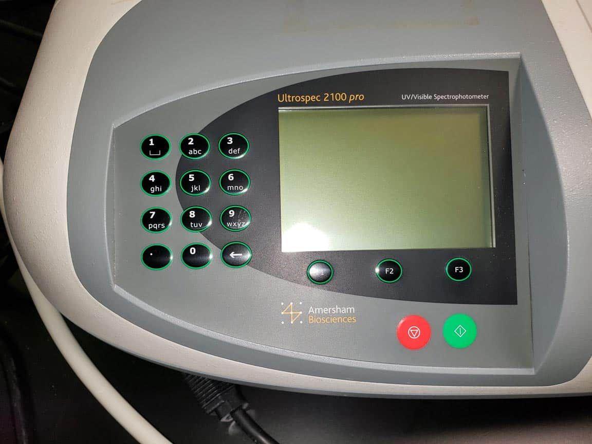 Amersham Bio Ultrospec 2100 Pro UV-Vis spectrophotometer with 30 day warranty