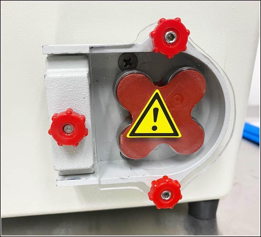 Wheaton Unispense Dispensing Pump 4 Roller Head w WARRANTY