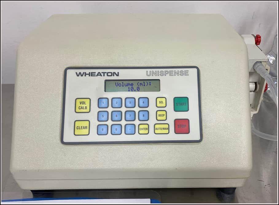 Wheaton Omnispense Unispense Dispensing Pump w WARRANTY
