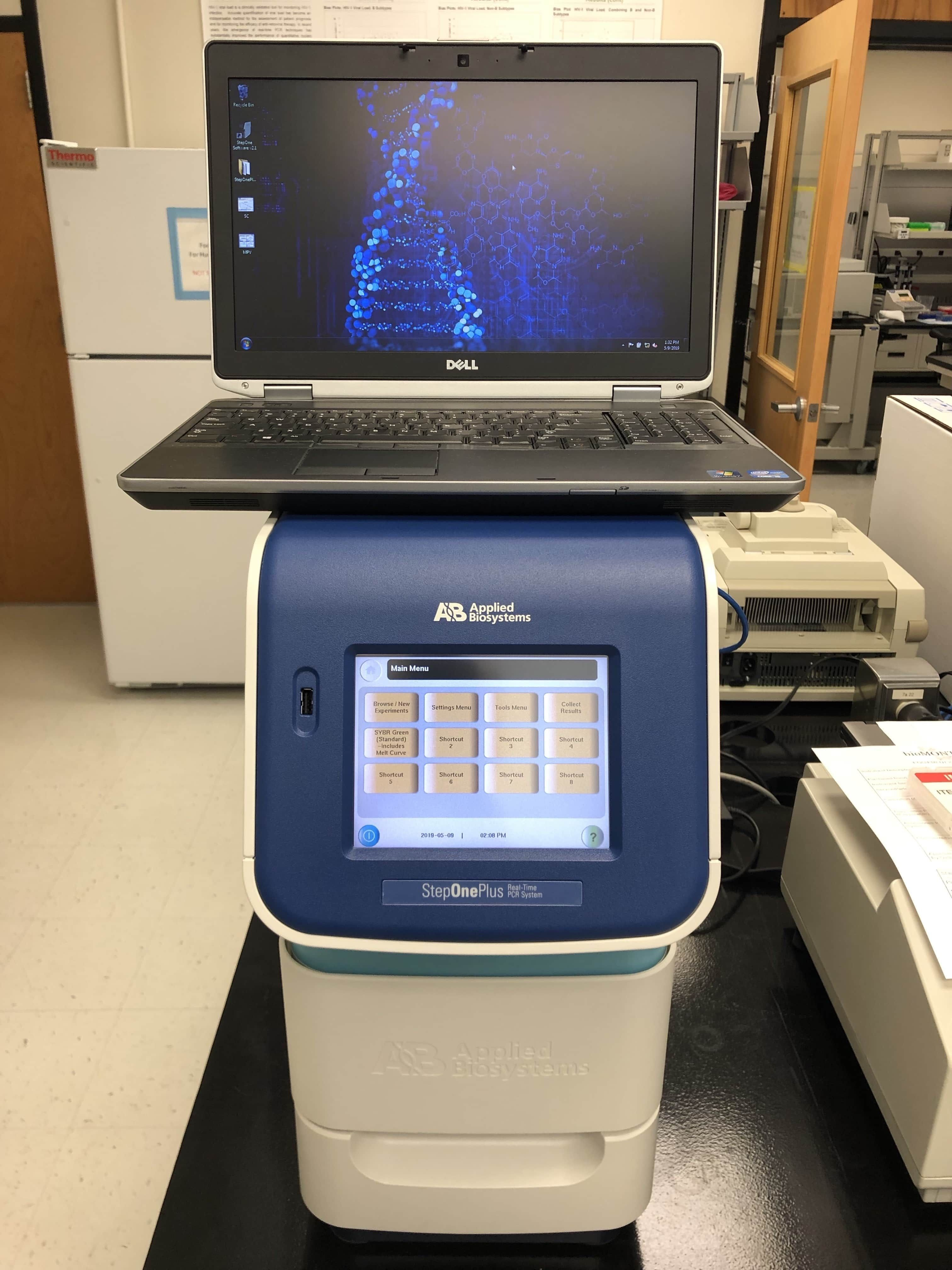 ABI StepOne Plus Real-time PCR System-Year 2014-New Performance Testing